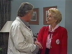 Clarrie McLachlan, Madge Bishop in Neighbours Episode 1226