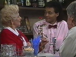 Madge Bishop, Eddie Buckingham in Neighbours Episode 1226