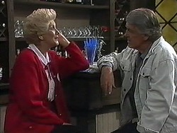 Madge Bishop, Clarrie McLachlan in Neighbours Episode 1226