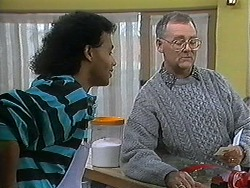 Eddie Buckingham, Harold Bishop in Neighbours Episode 1226