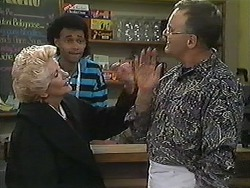Madge Bishop, Eddie Buckingham, Harold Bishop in Neighbours Episode 1226