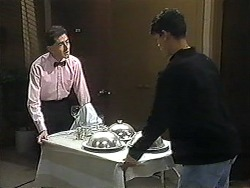 Waiter, Josh Anderson in Neighbours Episode 1227