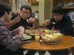 Kerry Bishop, Matt Robinson, Joe Mangel in Neighbours Episode 1227