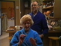 Madge Bishop, Harold Bishop in Neighbours Episode 1228