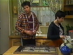 Joe Mangel, Kerry Bishop in Neighbours Episode 1228