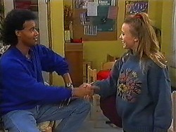 Eddie Buckingham, Gemma Ramsay in Neighbours Episode 1228