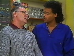 Harold Bishop, Eddie Buckingham in Neighbours Episode 1228