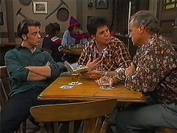 Matt Robinson, Joe Mangel, Jim Robinson in Neighbours Episode 1228