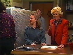 Gemma Ramsay, Harold Bishop, Madge Bishop in Neighbours Episode 1228