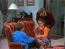 Toby Mangel, Lochy McLachlan, Ryan McLachlan in Neighbours Episode 1229