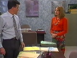 Paul Robinson, Melanie Pearson in Neighbours Episode 1229