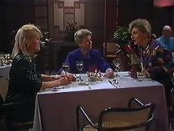 Rosemary Daniels, Helen Daniels, Beverly Robinson in Neighbours Episode 1229