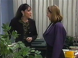 Candice Hopkins, Melanie Pearson in Neighbours Episode 1230