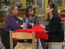 Melanie Pearson, Christina Alessi, Candice Hopkins in Neighbours Episode 1230