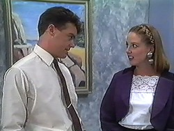 Paul Robinson, Melanie Pearson in Neighbours Episode 1230