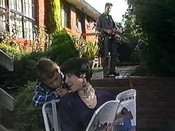 Toby Mangel, Kerry Bishop, Joe Mangel in Neighbours Episode 1230