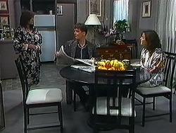Christina Alessi, Paul Robinson, Caroline Alessi in Neighbours Episode 1231
