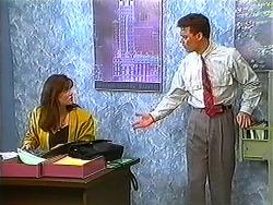 Caroline Alessi, Paul Robinson in Neighbours Episode 1231