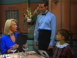 Rosemary Daniels, Waiter, Tracey Dawson in Neighbours Episode 1231