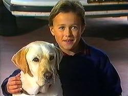 Bouncer, Toby Mangel in Neighbours Episode 1231