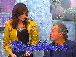 Caroline Alessi, Jim Robinson in Neighbours Episode 1231