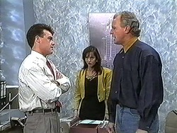 Paul Robinson, Caroline Alessi, Jim Robinson in Neighbours Episode 1232