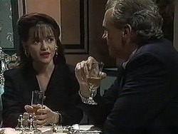 Caroline Alessi, Jim Robinson in Neighbours Episode 1232
