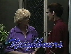Madge Bishop, Dorothy Burke in Neighbours Episode 1232