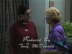 Dorothy Burke, Madge Bishop in Neighbours Episode 1233