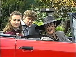 Gemma Ramsay, Ryan McLachlan, Dorothy Burke in Neighbours Episode 1233