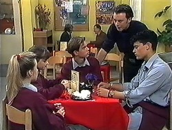 Melissa Jarrett, Cody Willis, Todd Landers, Matt Robinson, Josh Anderson in Neighbours Episode 1233