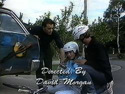 Matt Robinson, Gemma Ramsay, Ryan McLachlan in Neighbours Episode 1234