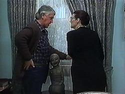Clarrie McLachlan, Dorothy Burke in Neighbours Episode 1234