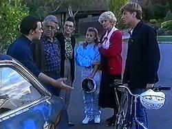 Matt Robinson, Clarrie McLachlan, Dorothy Burke, Gemma Ramsay, Madge Bishop, Ryan McLachlan in Neighbours Episode 1234