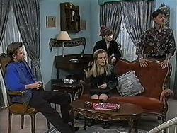 Todd Landers, Melissa Jarrett, Cody Willis, Josh Anderson in Neighbours Episode 1234