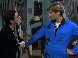Dorothy Burke, Ryan McLachlan in Neighbours Episode 1234