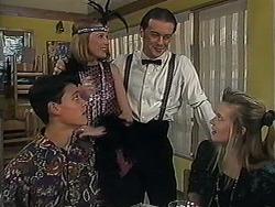 Josh Anderson, Melanie Pearson, Matt Robinson, Melissa Jarrett in Neighbours Episode 1234