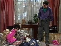 Sky Mangel, Kerry Bishop, Joe Mangel in Neighbours Episode 1234