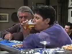 Clarrie McLachlan, Joe Mangel in Neighbours Episode 1235