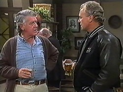 Clarrie McLachlan, Jim Robinson in Neighbours Episode 1235