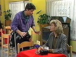 Joe Mangel, Beverly Robinson in Neighbours Episode 1235