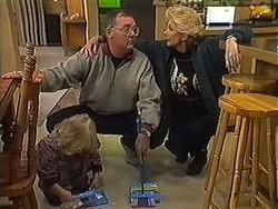 Sky Mangel, Harold Bishop, Madge Bishop in Neighbours Episode 1236