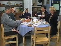 Harold Bishop, Gemma Ramsay, Helen Daniels, Paul Robinson, Madge Bishop in Neighbours Episode 1236