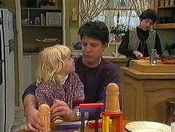 Sky Bishop, Joe Mangel, Kerry Bishop in Neighbours Episode 1236