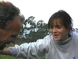 Jim Robinson, Caroline Alessi in Neighbours Episode 1236