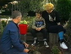 Harold Bishop, Toby Mangel, Madge Bishop in Neighbours Episode 1236