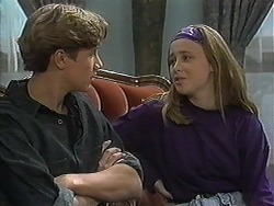 Ryan McLachlan, Gemma Ramsay in Neighbours Episode 1237