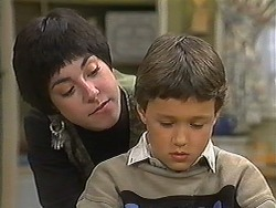 Kerry Bishop, Toby Mangel in Neighbours Episode 1237