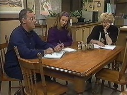 Harold Bishop, Gemma Ramsay, Madge Bishop in Neighbours Episode 1237