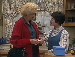Madge Bishop, Kerry Bishop in Neighbours Episode 1237